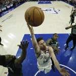 NBA季後賽》76人變陣收奇效 雙控衛讓綠衫軍措手不及