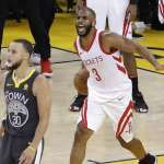 NBA西冠》這一勝給高中槍擊遇難家屬 保羅:休士頓,我們回來了