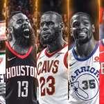 NBA》年度最佳陣容公布 詹皇、哈登全票入選第一隊