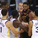 NBA總冠軍》拿球砸向格林臉部 湯普森遭罰75萬台幣