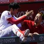 MLB》大谷翔平敲安又得分 帶動氣勢助贏球