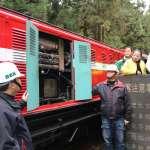 阿里山森林小火車戴口罩 降低排煙量超過9成5