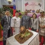 史瓦帝尼國王參加王子畢業典禮 蔡英文:促進兩國年輕世代的交流