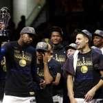 NBA總冠軍》勇士4年內奪3冠 下季拚3連霸
