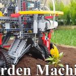 有片》樂高神人又發威啦!這次DIY超靈活「自動種花機」,挖土、栽花、澆水一機搞定!