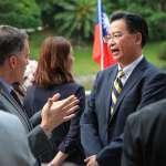 同樣受中國軍事威脅 吳釗燮呼籲:台日應進行安保對話