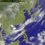 日本發布颱風「凱米」 中央氣象局不跟進:風速尚未達輕颱等級