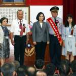 慶祝107年警察節 蔡英文:當所有警察同仁堅實靠山!