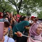 台北開齋節X穆斯林嘉年華》「印尼五月天」Pasha來台演唱,粉絲熱烈歡呼
