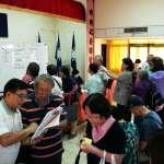 爭年金提訴訟訴願 藍營竹縣市黨部湧退休公教人潮