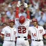 MLB》國民19歲新秀索托扛五番 雙響助威大勝費城人