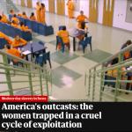 從監獄到煉獄!美國女子監獄淪為皮條客獵場 拐騙出獄女囚推入火坑