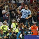 世足賽果》16強:卡瓦尼梅開二度,烏拉圭擊敗葡萄牙晉級8強