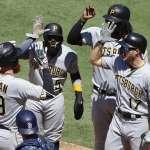 MLB》周日3支滿貫砲 海盜莫蘭逆轉轟最關鍵