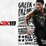 NBA》字母哥當選2K19封面人物 詹姆斯周年紀念版2度上封面