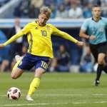 世足賽果》16強:瑞典靠幸運折射破門,1比0扳倒瑞士晉8強