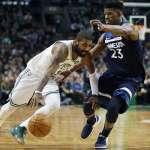 NBA》巴特勒無意續留灰狼 盼與好友厄文組後場雙槍
