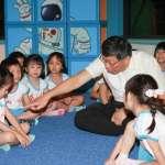 台北天文館重新開幕 柯文哲與小朋友玩天文機智問答