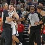 NBA》夏季聯賽火藥味十足 艾倫夾手動作引爆衝突