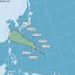 第8號「瑪莉亞」颱風眼清晰 美軍聯合颱風警報中心:可能成為「超級颱風」