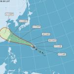 強烈颱風瑪莉亞持續南偏 吳德榮:威脅台灣程度越來越大