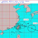 陸上警報今晚發布!瑪莉亞快速逼近 明天北部東北部強風豪雨