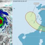 瑪莉亞颱風10、11日影響最大 吳德榮:破壞力由距離而定
