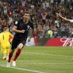 世足賽果》4強:延長賽成功逆轉英格蘭,克羅埃西亞首度挺進決賽
