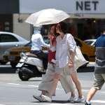 台北35.4度創今年最高溫 全台明天更熱