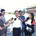 蔣公銅像遭潑漆 丁守中:民進黨執政治安壞,到處是分屍案