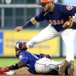 MLB》普洛法臉遭無影腳強襲 包紮完立刻重回場上