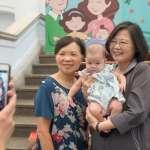 總統府員工家庭日眾多小Baby登場 蔡總統戲稱:這是我的功勞,同仁要多生幾個