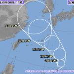 颱風「摩羯」生成!周末起東台灣降雨機率增