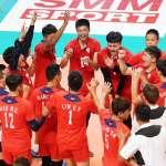 排球》擊落強敵哈薩克 中華男排前進亞洲盃4強!