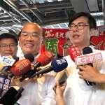 「衝衝衝」遇到「緊緊緊」 蘇貞昌南下高雄與陳其邁南北造勢