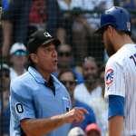 MLB》小熊佐布里斯特生涯首度被趕出場 怒噴主審:電子好球帶早該出現