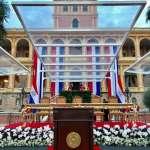 蔡英文出席巴拉圭總統就職典禮「看到蘭花就想到台灣」