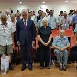 竹市32位823老戰友現身 議會代表全市致上最敬禮