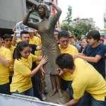 新黨在日本交流協會前立慰安婦銅像 要求3北市長參選人表態