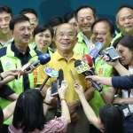 蘇貞昌與36位新北市議員參選人大合體 誓言年底選戰「全壘打」