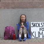 「你們大人正在搞砸我的未來!」15歲亞斯伯格症少女罷課靜坐抗議 呼籲政府正視全球暖化問題