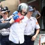 男子持鐮刀闖總統府遭制伏 被問及犯案動機高喊「我愛她!」