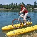 腳踏車竟能在水上騎?裝上「Shuttle Bike Kit」,鐵馬秒變超帥「水陸兩用車」!