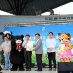 林佳龍北上宣傳台中花博 柯文哲:不只是台中的花博,是台灣的花博