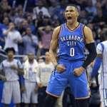 NBA》威少驚傳動刀 季前熱身賽報銷盼趕得上開幕戰