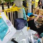 黃士修絕食超過70小時!「以核養綠」再號召百人到場聲援、抗議中選會