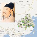 唐宋文學編年地圖:讓你動動滑鼠,看盡詩人一生的行跡!