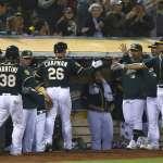 MLB》運動家血洗天使21分創紀錄 魔球在手人人拚命發光