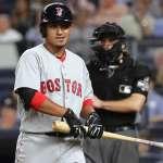 MLB》紅襪林子偉連4場敲安 熱身賽打擊率4成44
