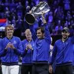 網球》費德勒率領歐洲聯隊 成功衛冕第2屆拉沃盃
